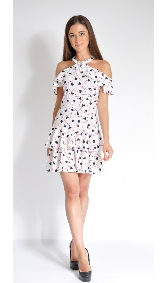 Платье LOVELY OLGEN цвет белый