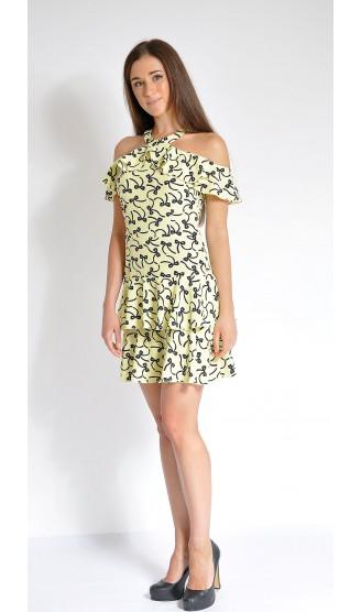 Платье LOVELY OLGEN цвет желтый