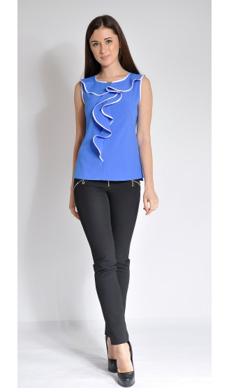 Блузка LOVELY OLGEN цвет синий