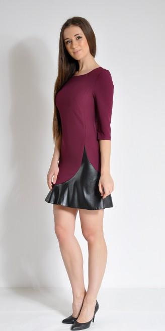 Платье LOVELY OLGEN цвет баклажан