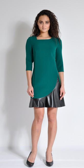 Платье LOVELY OLGEN цвет зеленый
