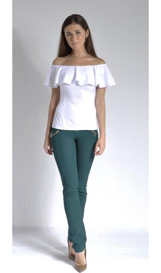 Блузка LOVELY OLGEN цвет белый