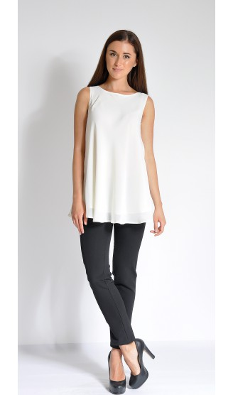 Блузка LOVELY OLGEN цвет молоко