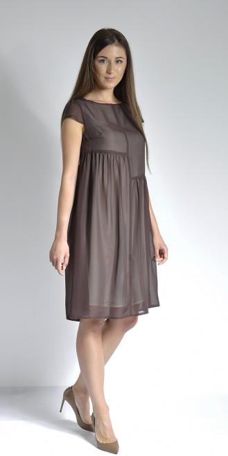 Платье LOVELY OLGEN цвет коричневый