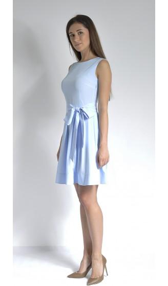 Платье LOVELY OLGEN цвет голубой