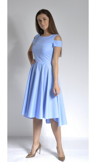 Платье LOVELY OLGEN цвет голубое