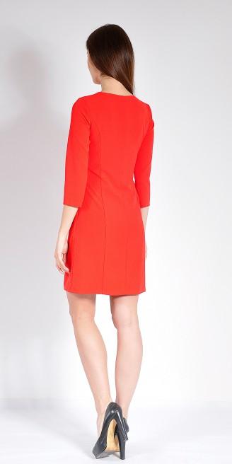 Платье LOVELY OLGEN цвет красный