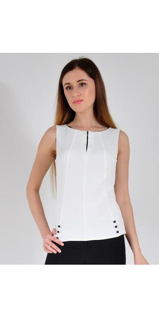 Блузка LOVELY OLGEN цвет молочный