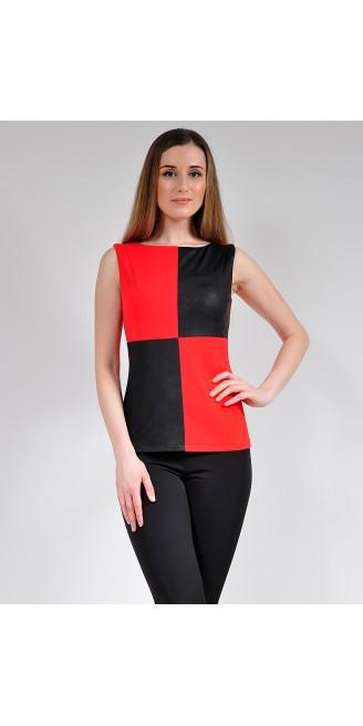Блузка LOVELY OLGEN цвет красный