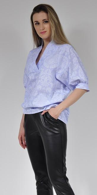 Блузка LOVELY OLGEN цвет голубой